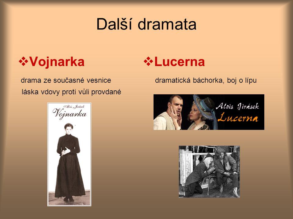 Další dramata Vojnarka Lucerna drama ze současné vesnice