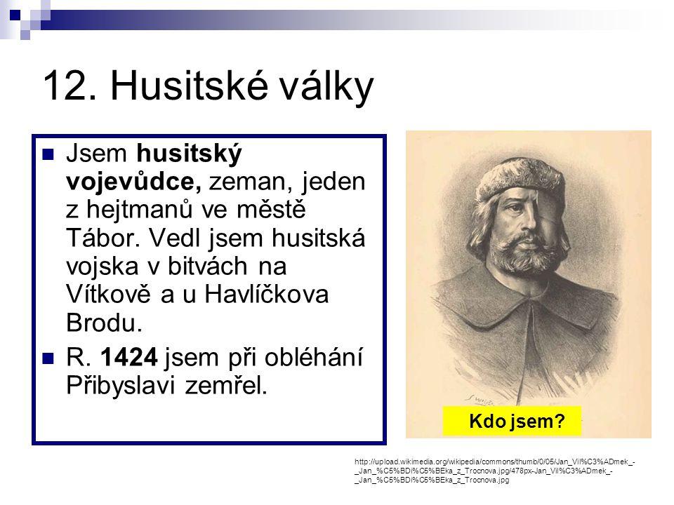 12. Husitské války