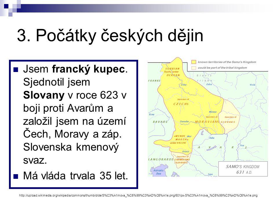 3. Počátky českých dějin