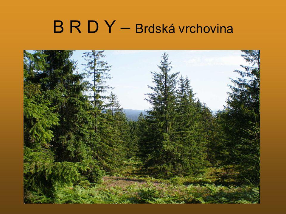 B R D Y – Brdská vrchovina