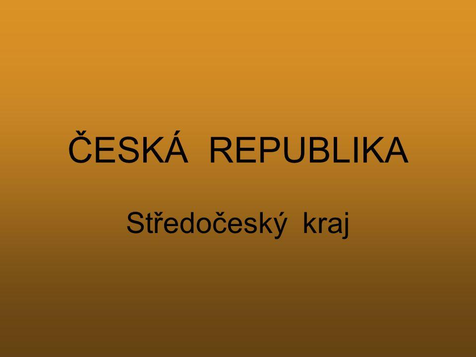 ČESKÁ REPUBLIKA Středočeský kraj