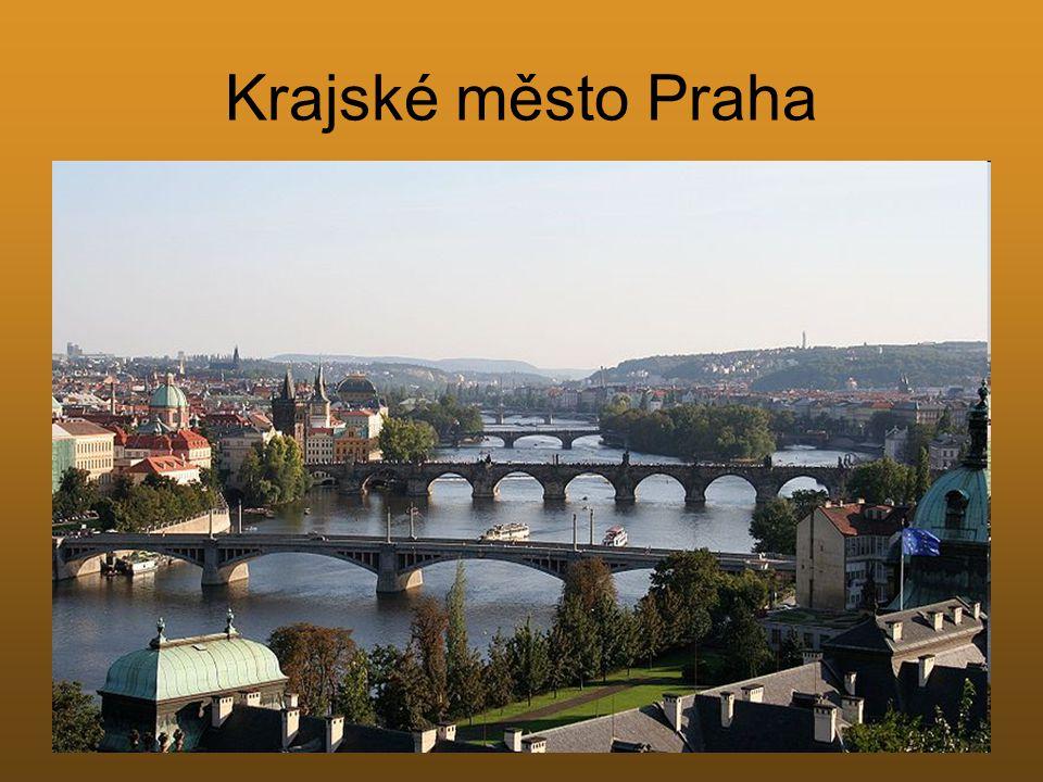 Krajské město Praha
