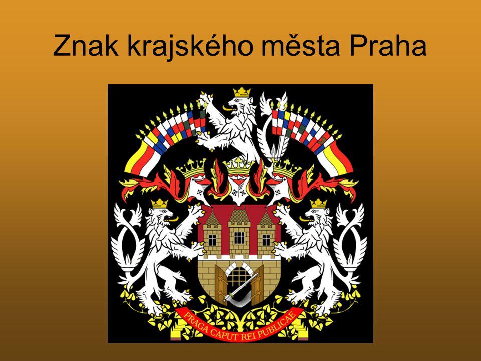 Znak krajského města Praha