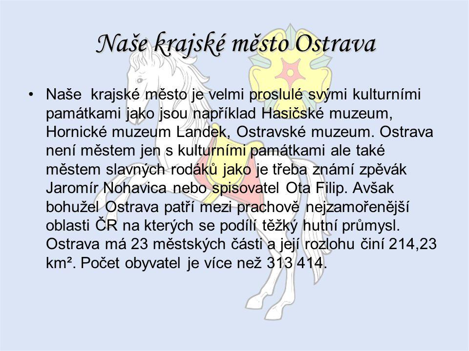 Naše krajské město Ostrava