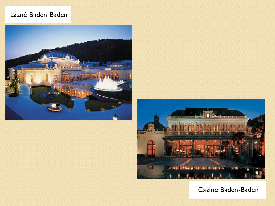 Lázně Baden-Baden Casino Baden-Baden