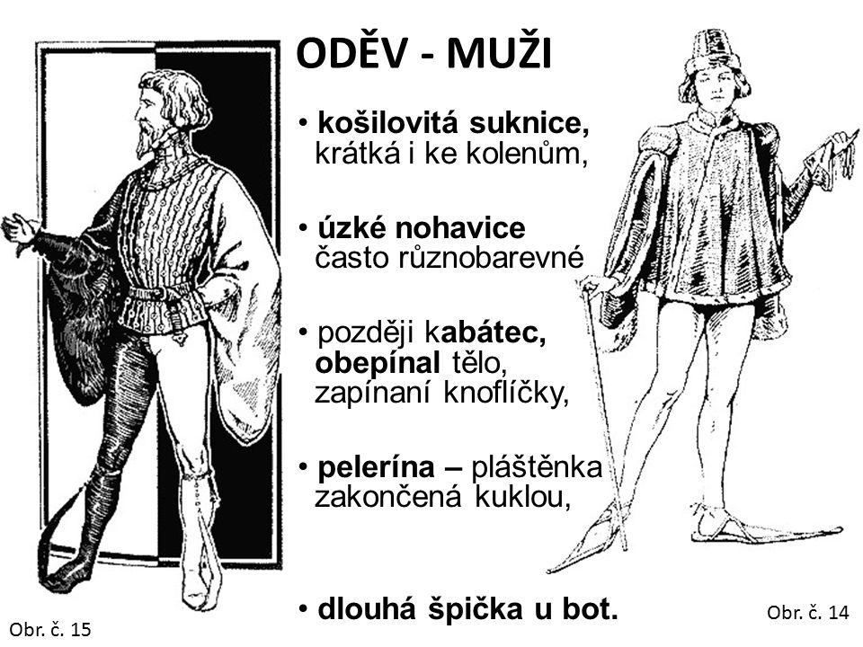 ODĚV - MUŽI košilovitá suknice, krátká i ke kolenům,
