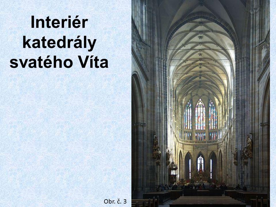 Katedrála sv. Víta v Praze Interiér katedrály svatého Víta