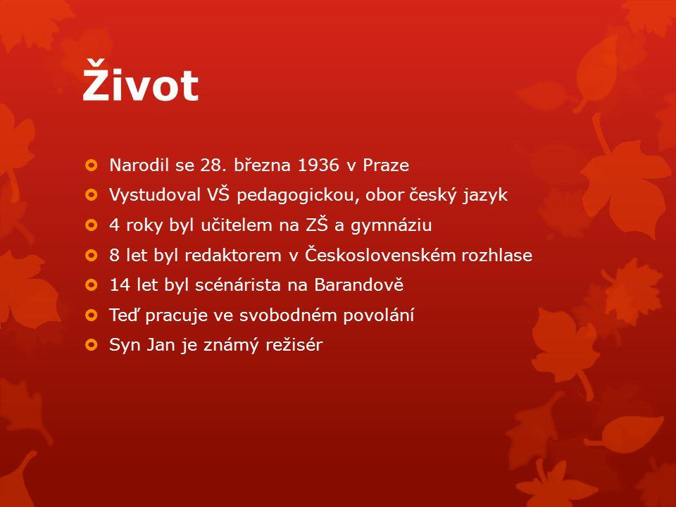 Život Narodil se 28. března 1936 v Praze