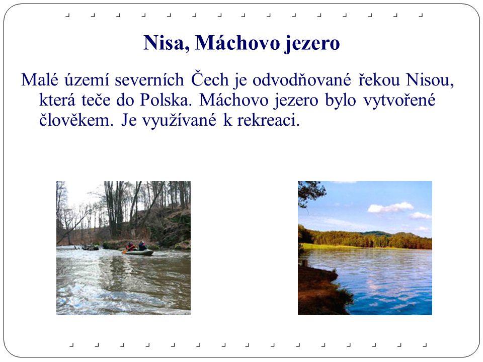 Nisa, Máchovo jezero