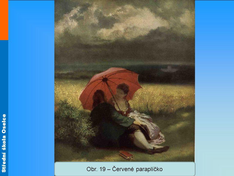 Obr. 19 – Červené paraplíčko