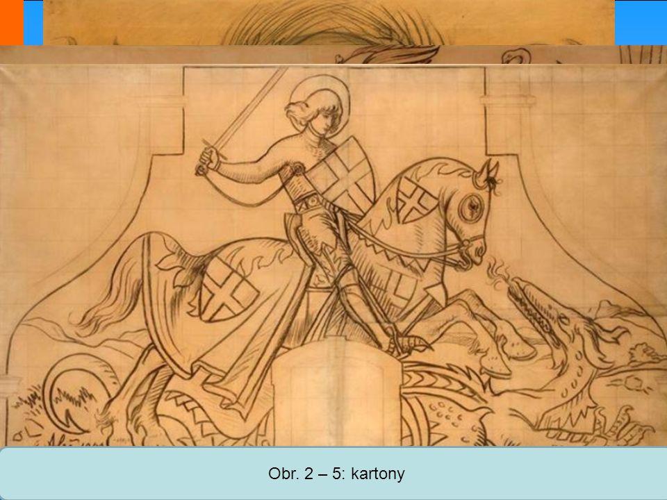 Obr. 2 – 5: kartony