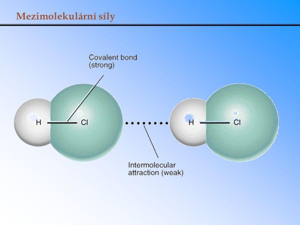 Mezimolekulární síly