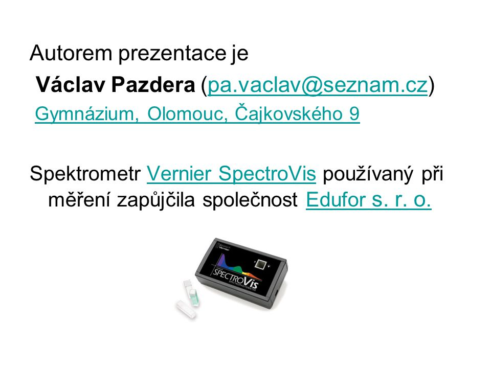 Václav Pazdera (pa.vaclav@seznam.cz)