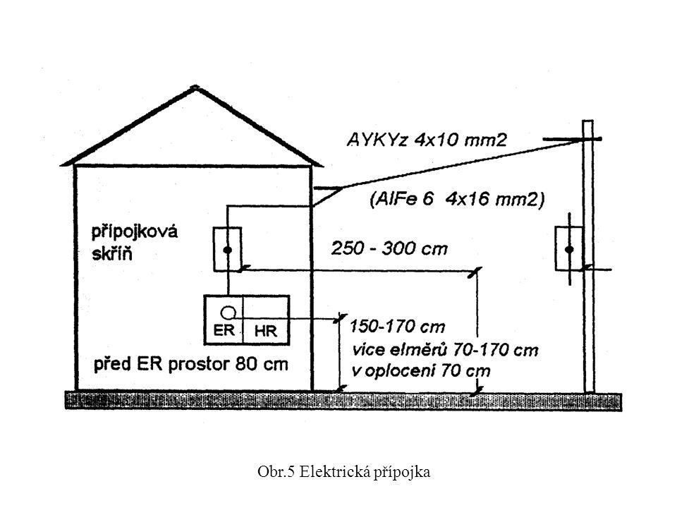 Obr.5 Elektrická přípojka