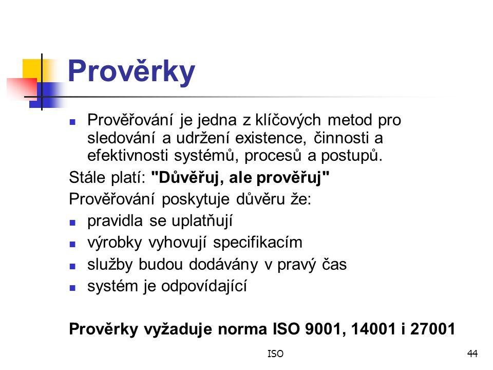 Prověrky Prověřování je jedna z klíčových metod pro sledování a udržení existence, činnosti a efektivnosti systémů, procesů a postupů.
