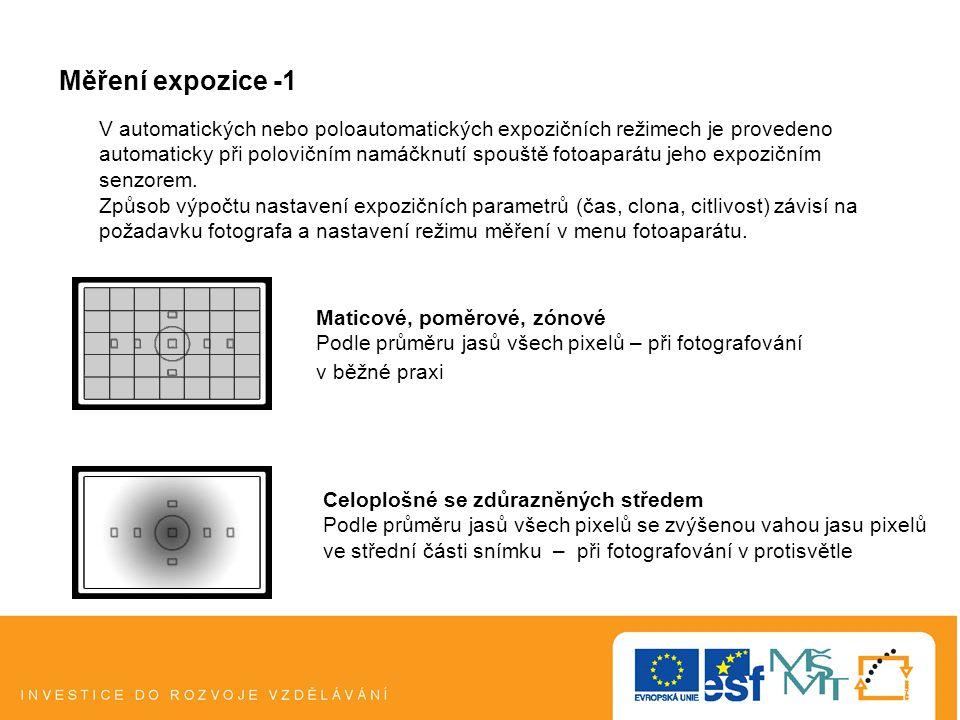 Měření expozice -1