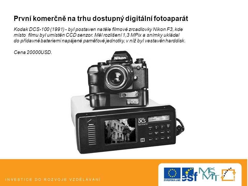 První komerčně na trhu dostupný digitální fotoaparát