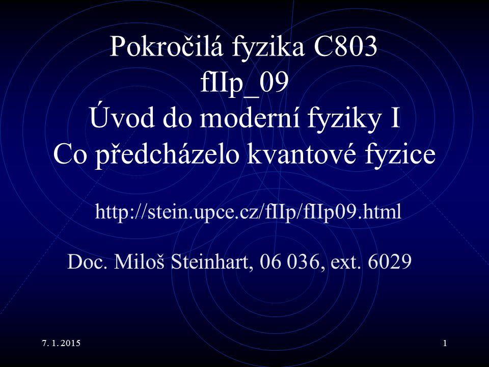 Doc. Miloš Steinhart, 06 036, ext. 6029