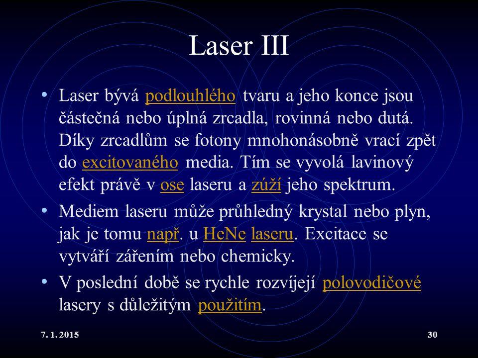 Laser III