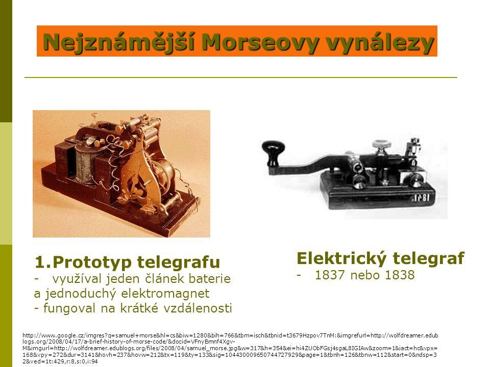 Nejznámější Morseovy vynálezy