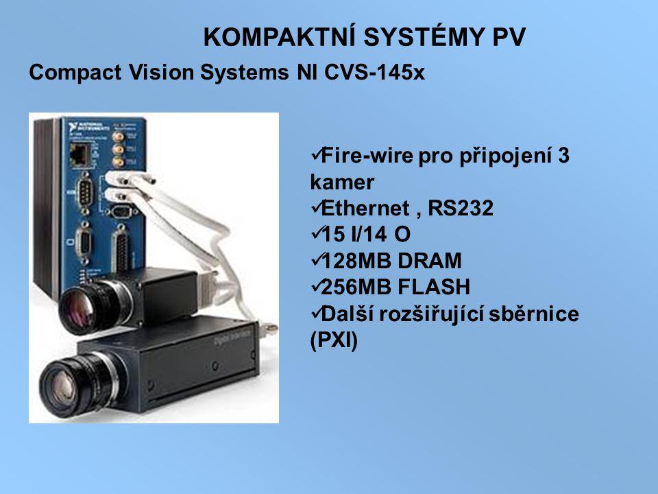 KOMPAKTNÍ SYSTÉMY PV Compact Vision Systems NI CVS-145x
