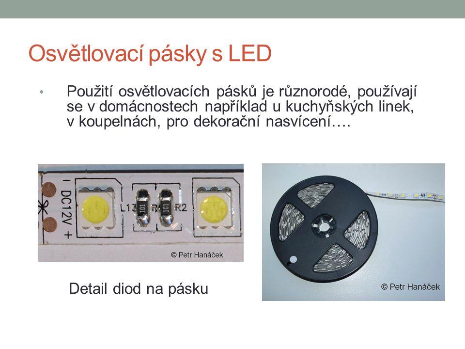 Osvětlovací pásky s LED