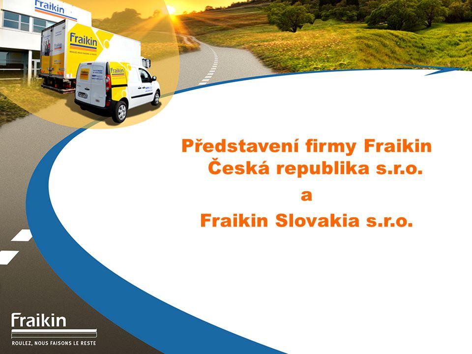 Představení firmy Fraikin Česká republika s.r.o.