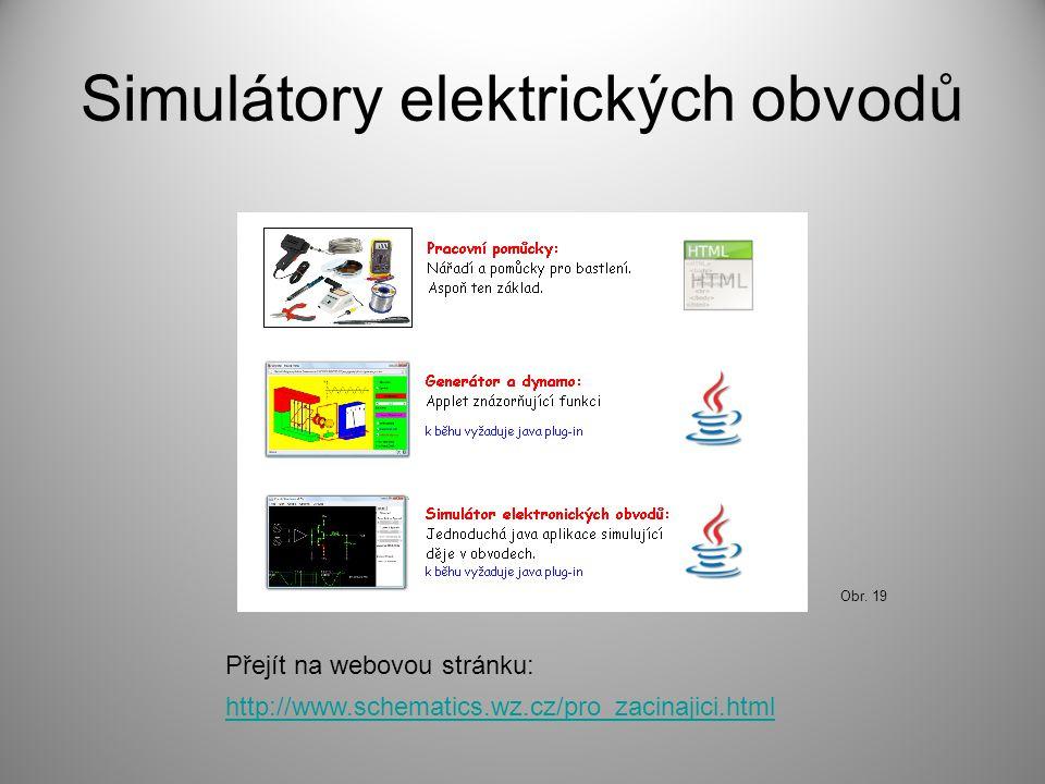 Simulátory elektrických obvodů