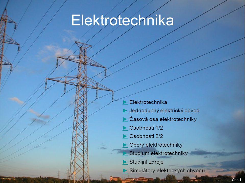 Elektrotechnika ► Elektrotechnika ► Jednoduchý elektrický obvod