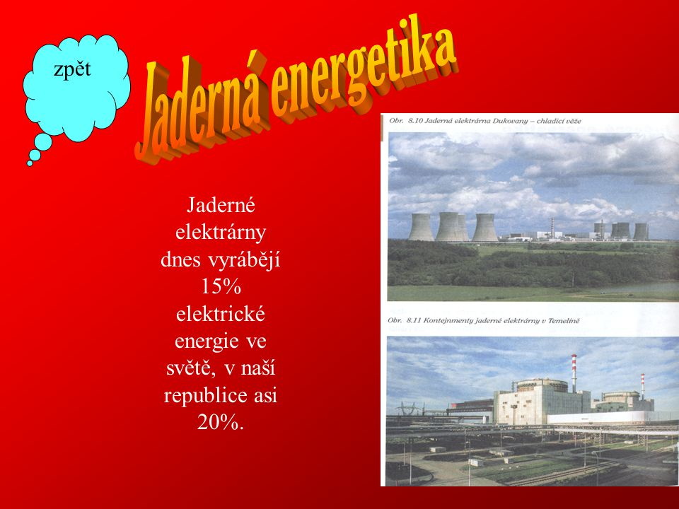 Jaderná energetika zpět