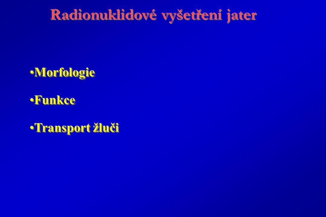 Radionuklidové vyšetření jater