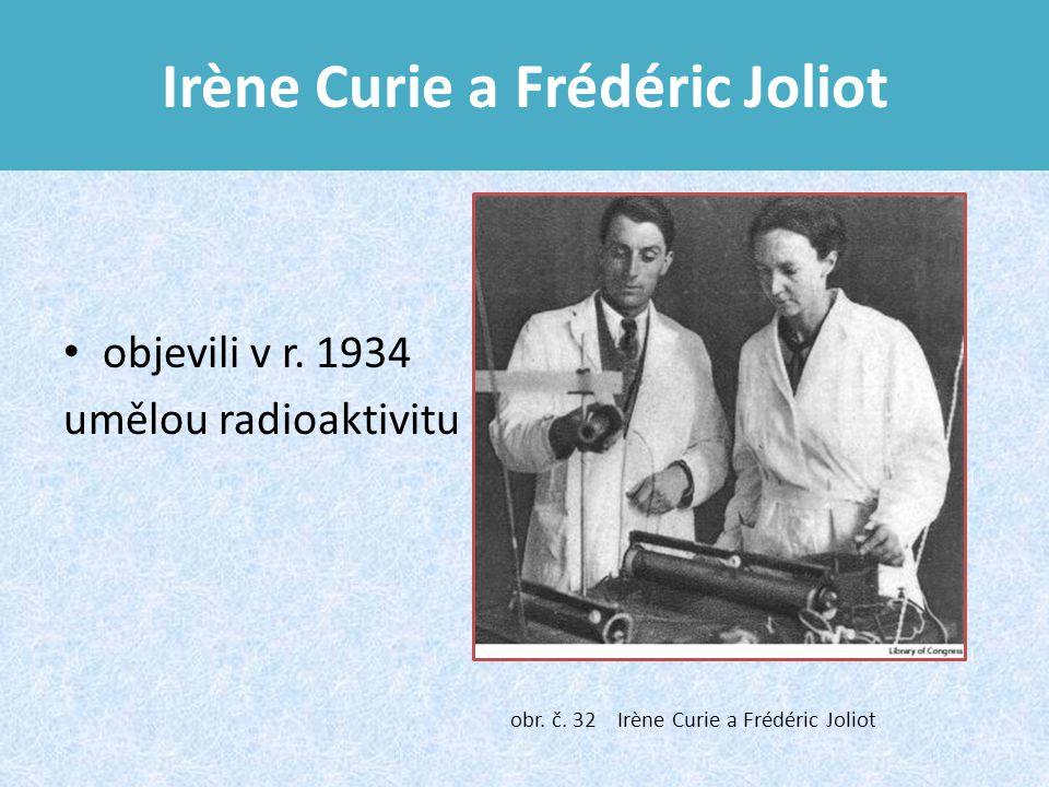 Irène Curie a Frédéric Joliot