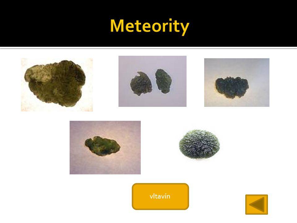 Meteority vltavín