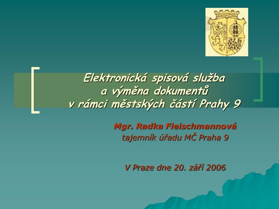 Mgr. Radka Fleischmannová