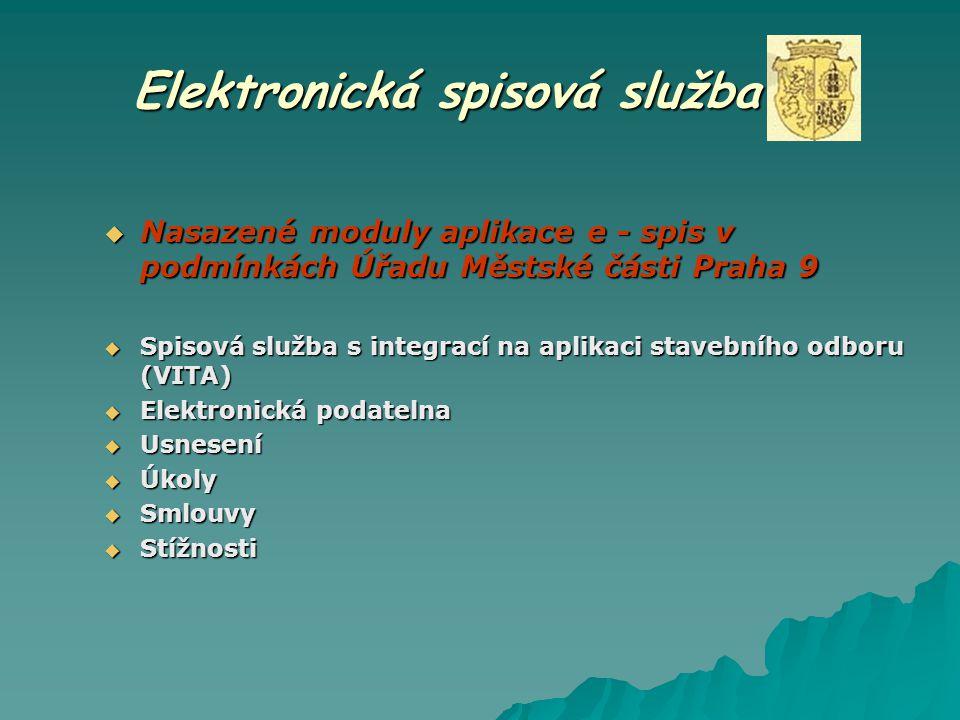 Elektronická spisová služba