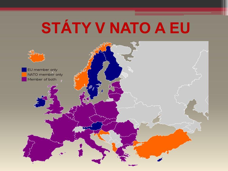 STÁTY V NATO A EU