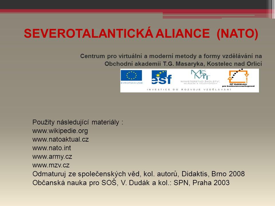 SEVEROTALANTICKÁ ALIANCE (NATO)