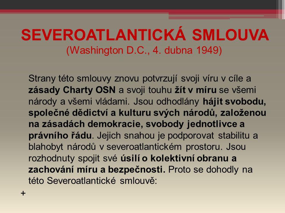 SEVEROATLANTICKÁ SMLOUVA