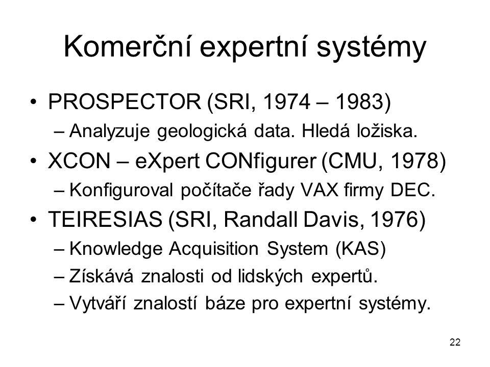 Komerční expertní systémy