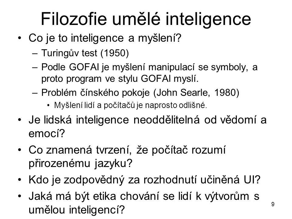 Filozofie umělé inteligence