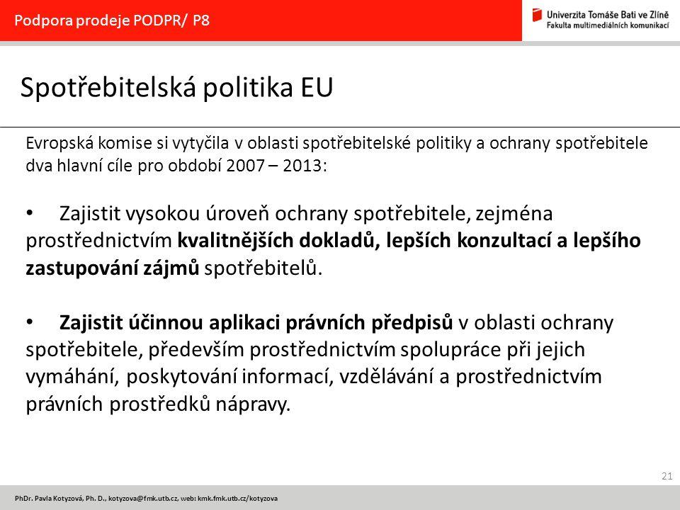 Spotřebitelská politika EU