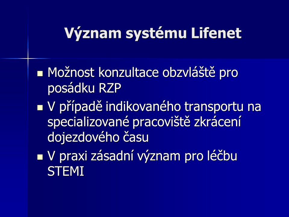 Význam systému Lifenet