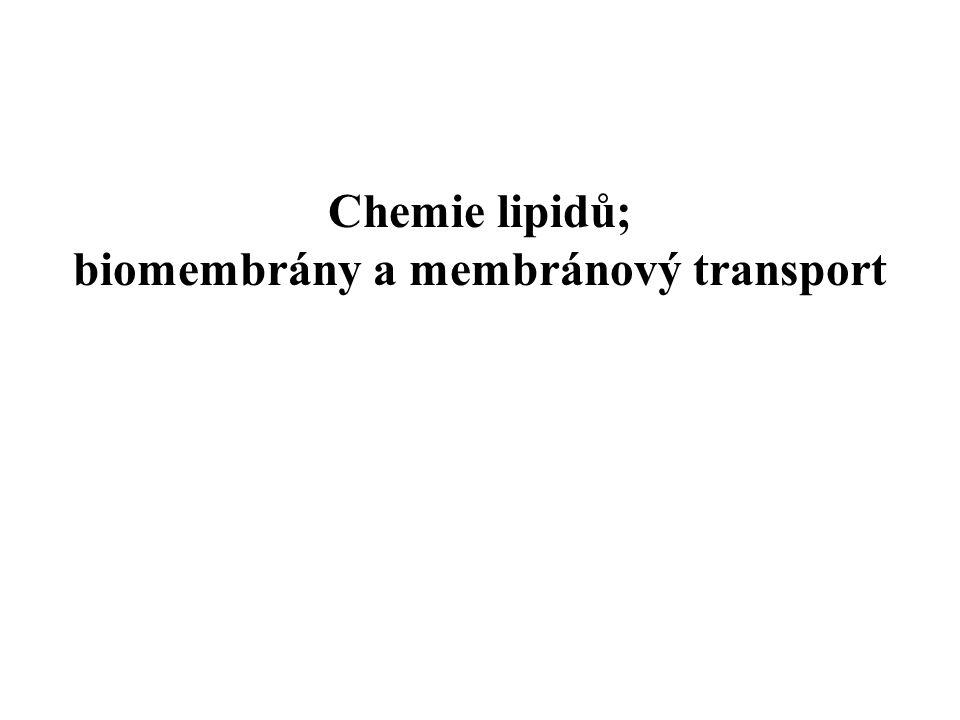 biomembrány a membránový transport