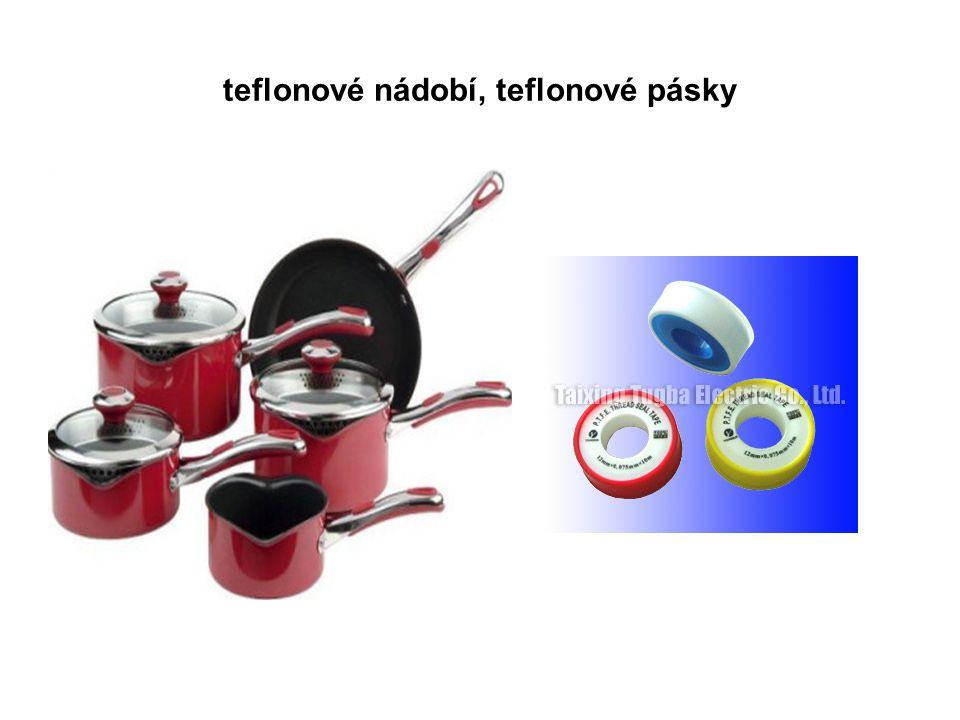 teflonové nádobí, teflonové pásky