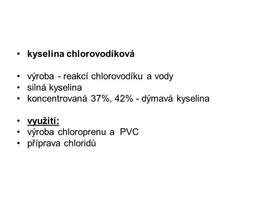 kyselina chlorovodíková