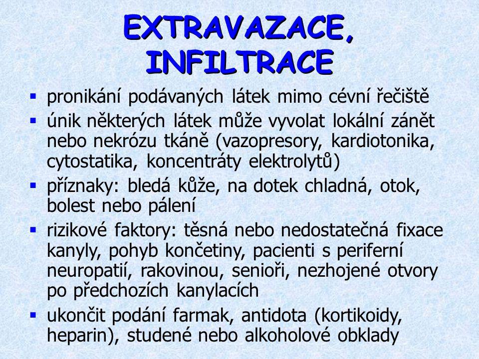 EXTRAVAZACE, INFILTRACE