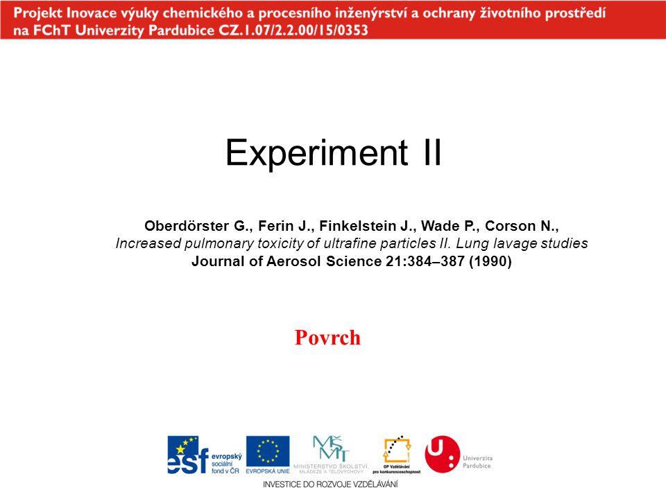 Experiment II