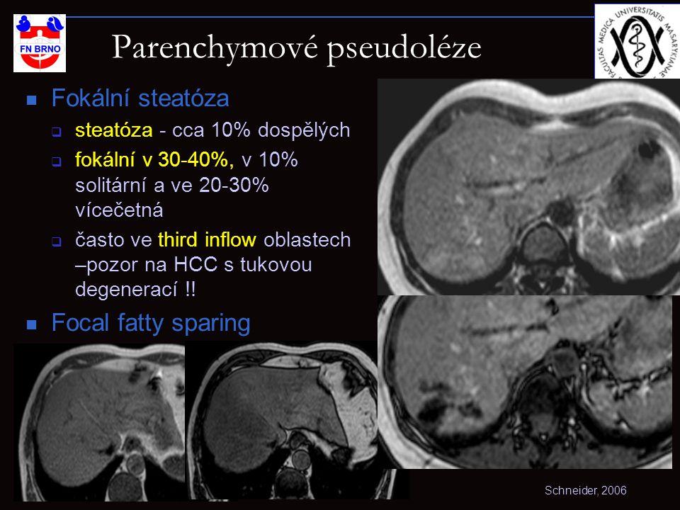 Parenchymové pseudoléze