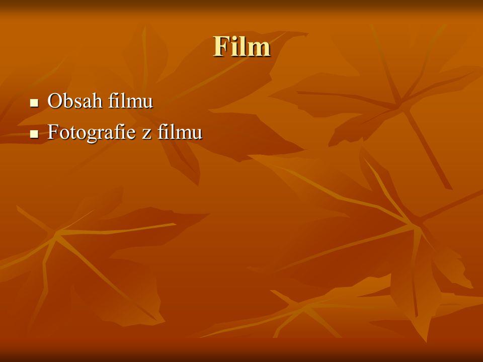 Film Obsah filmu Fotografie z filmu