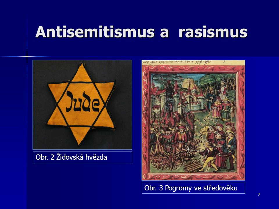 Antisemitismus a rasismus
